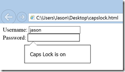 Caps Lock On
