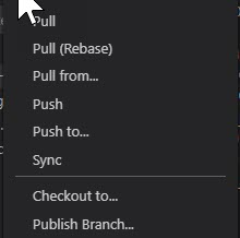 Publish your branch