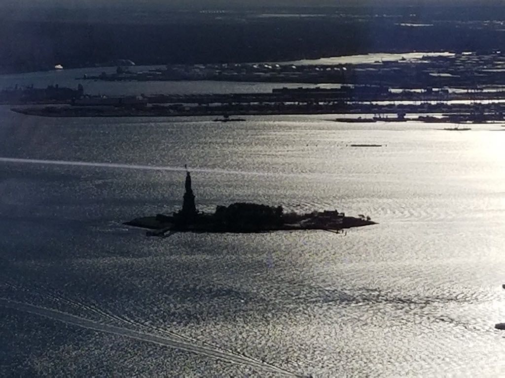Lady Liberty from the One World Trade Center Observation Deck