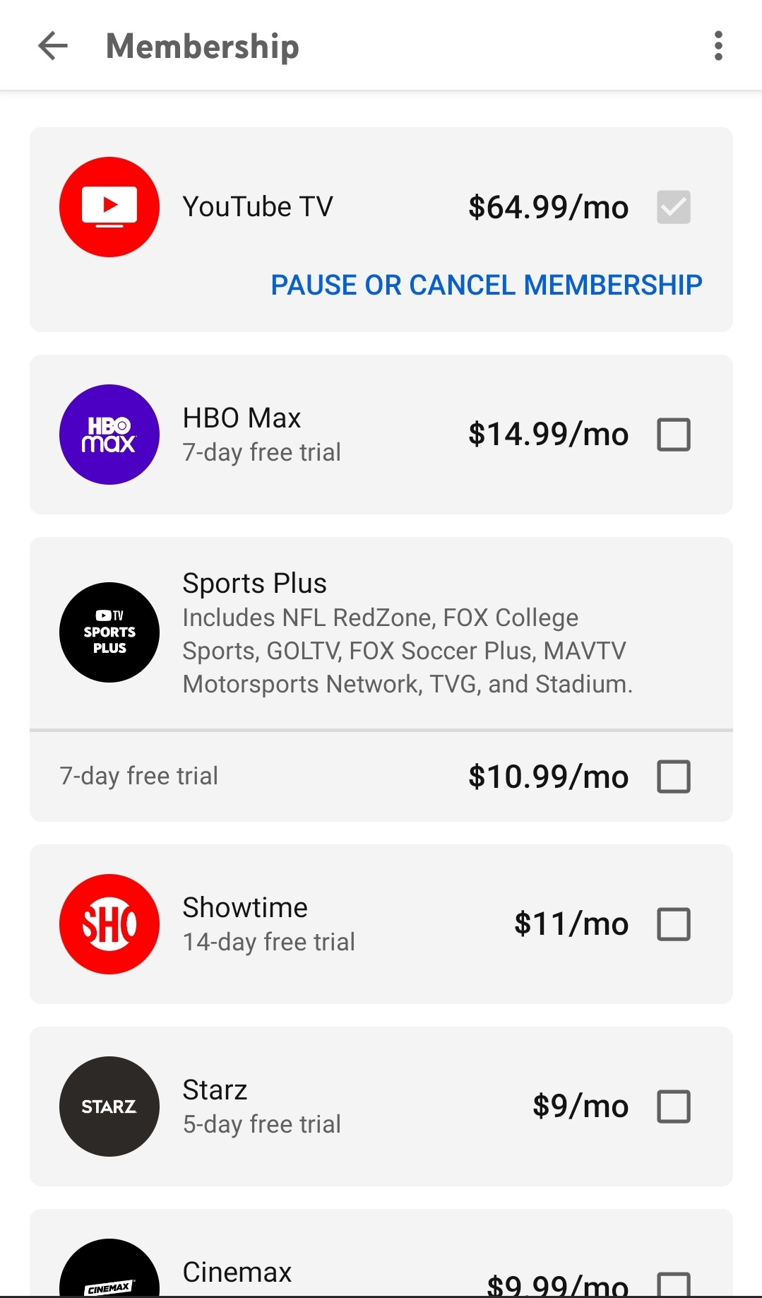 Adding NFL RedZone Channel