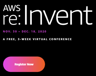 Register for AWS re:Invent now!