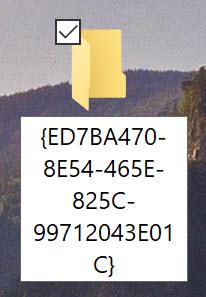 Rename the New Folder