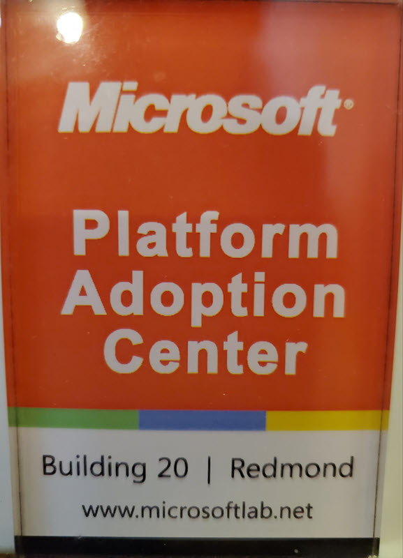Microsoft Building 20 Magnet