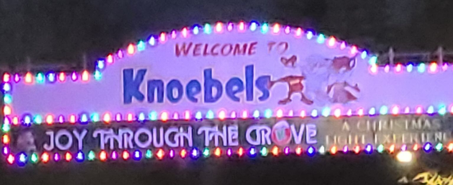 Welcome to Knoebels Joy Through The Grove